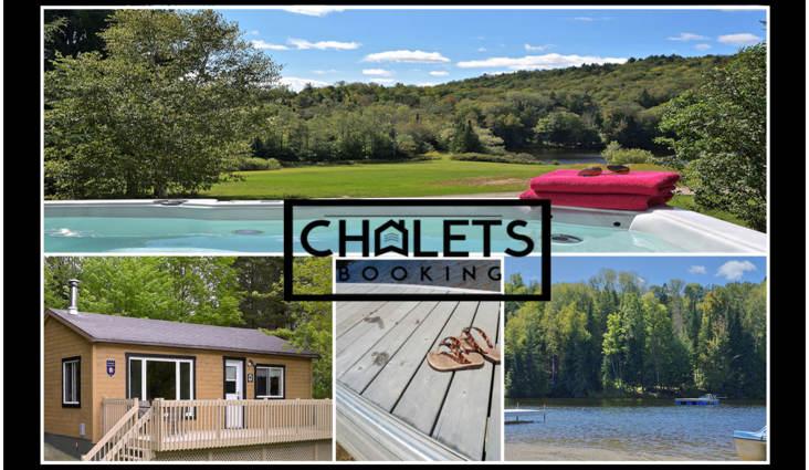 Planifiez l 39 t au chalet le vacancier chalets booking for Foyer exterieur montreal